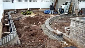Foundation Addition - Patio and Steps