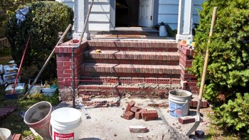 Brick Step Repair