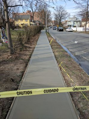 Before & After Sidewalk in Clifton, NJ (2)